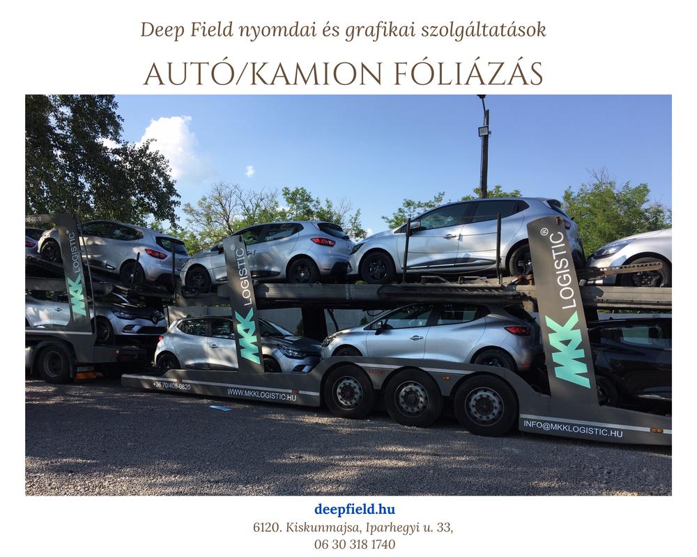 kamion fóliázás deep field