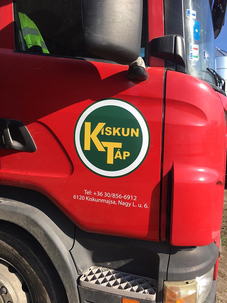 Kamion matricázás
